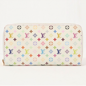 Monogram Multicolore Zippy Wallet by Takashi Murakami x Louis Vuitton